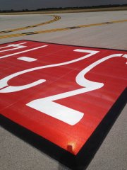 Airfield Taxiway Numbers Painted Markings
